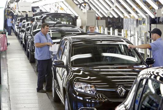 Renault volta a produzir no Parana dia 4 de maio