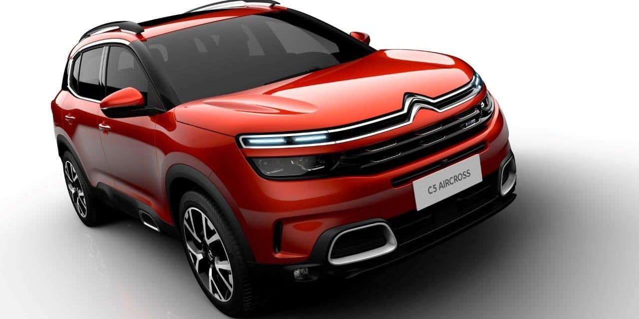 Citroën confirma C5 Aircross no Brasil
