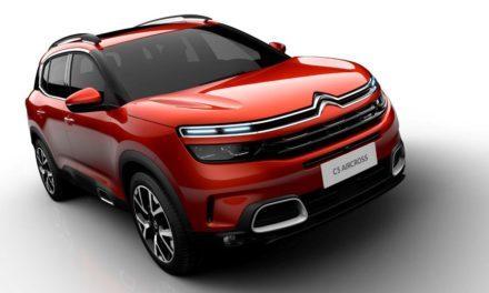 Citroën  apresenta o C5 Aircross