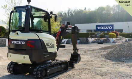 Volvo CE esboça futuro das escavadeiras