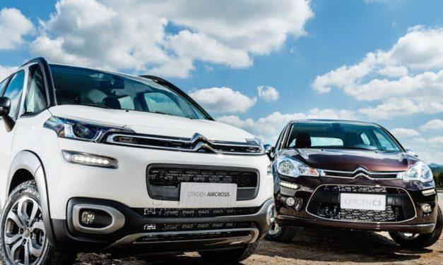 Citroën C3 e Aircross agora com câmbio de 6 marchas