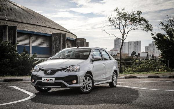 Toyota Etios é exportado para mais dois países