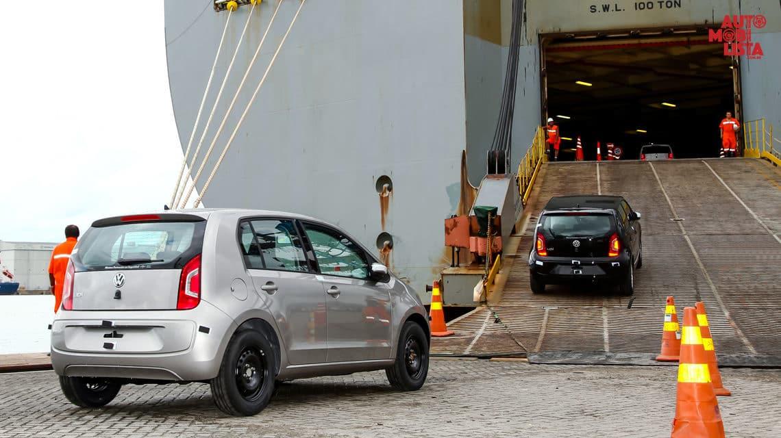 Alta de 41,6% nos embarques de veículos para a Argentina