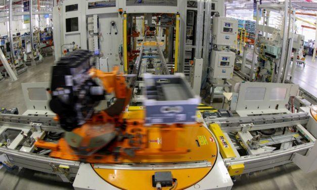 Fábrica da GM em Joinville supera 400 mil motores produzidos
