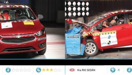 Líder Chevrolet Onix é reprovado pela Latin NCap