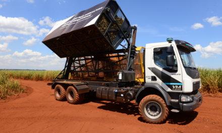 Volvo mostra primeiro caminhão autônomo do País