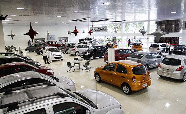 Vendas de veículos crescem 1,6% até maio