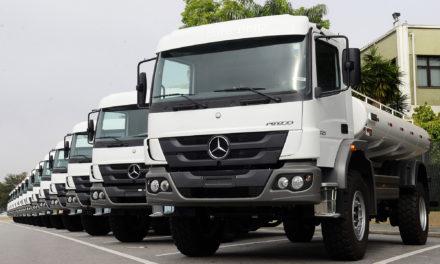 Brasil exporta 38% dos caminhões que produz