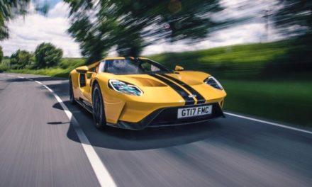 Ford GT: superesportividade deriva da alta tecnologia.
