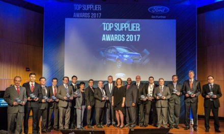 Ford premia treze fornecedores