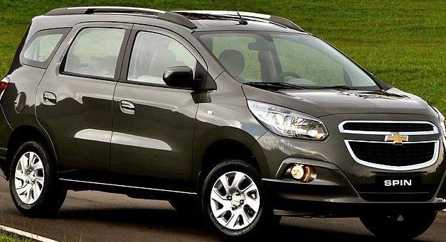 GM faz recall de 164,8 mil unidades do monovolume Spin
