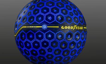 Goodyear apresenta seu conceito do pneu do futuro