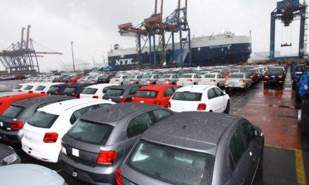 Novo recorde de exportações de veículos está ameaçado