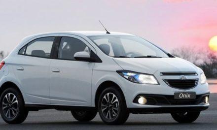 Chevrolet Onix será o carro mais vendido do Brasil pela terceira vez