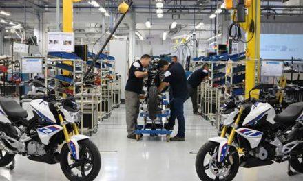 Produção de motos segue em ritmo positivo
