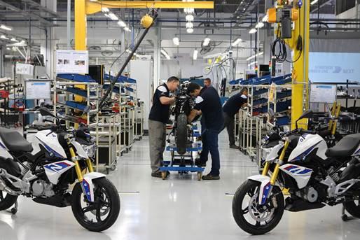 Em 2018, mais de 1 milhão de motos produzidas no Brasil