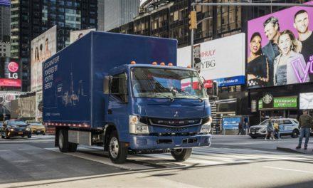 Mitsubishi Fuso lança caminhão 100% elétrico