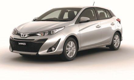 Yaris marcará 60 anos da Toyota no Brasil