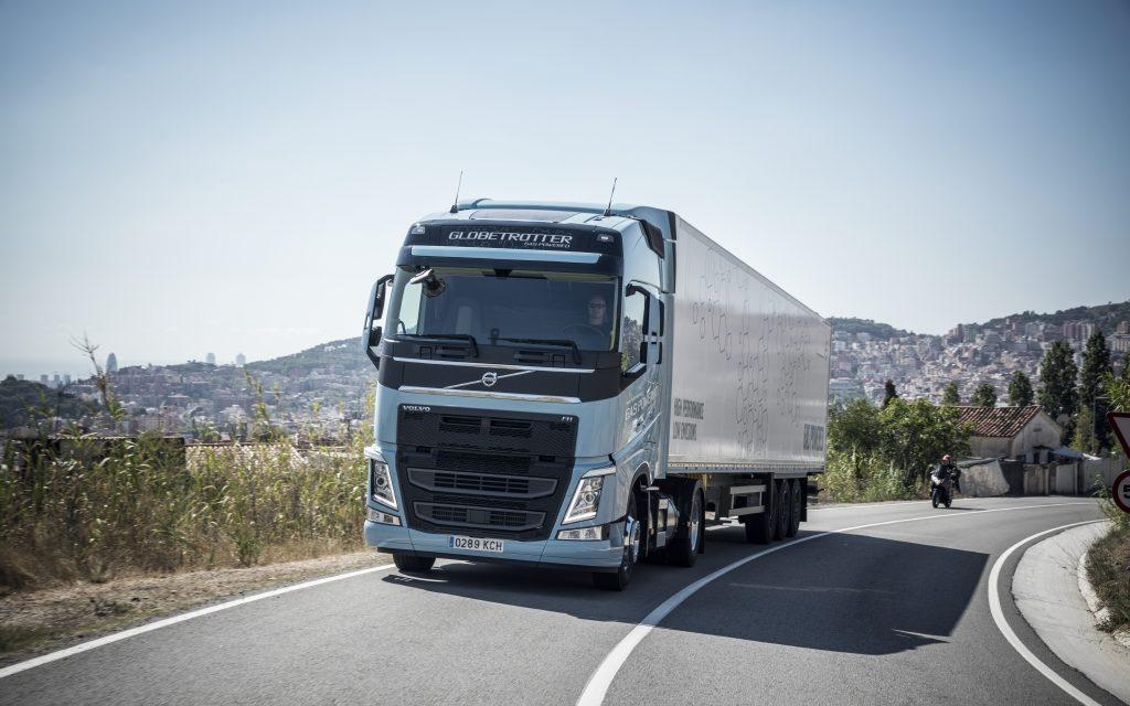 Volvo oferece tecnologia a gás liquefeito