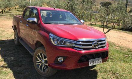 Abril teve três picapes entre os dez veículos mais vendidos
