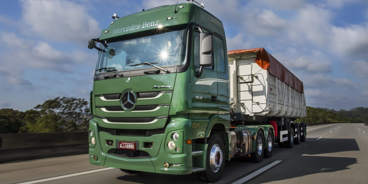 Mercado de caminhões sinaliza corrida movimentada