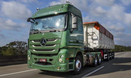 Mercedes-Benz lança Actros para entrar na história