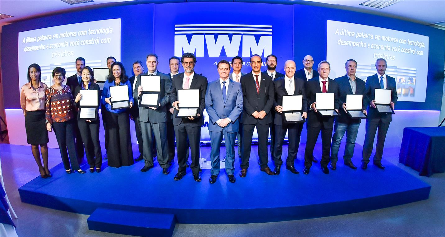 MWM premia fornecedores