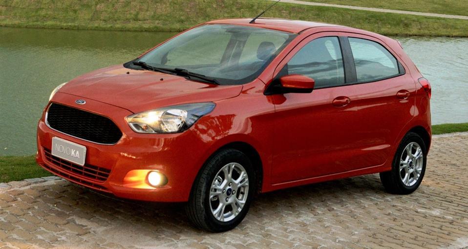 Ford Ka é vice-líder em outubro
