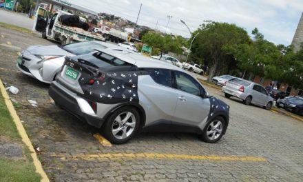 O Yaris que é, na verdade, outro segredo Toyota: o C-HR.