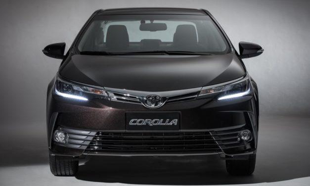 Toyota convoca dois recalls para o Corolla nacional