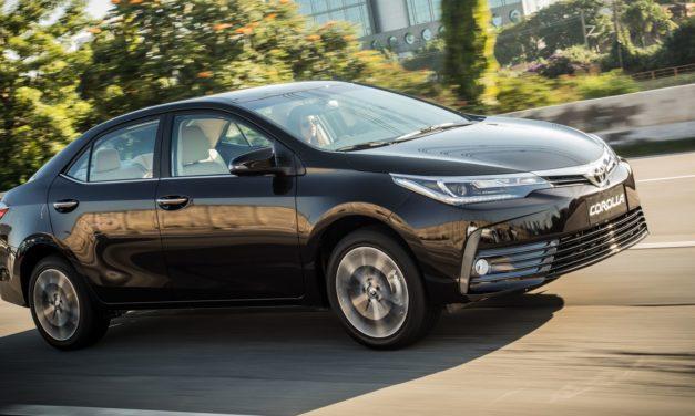 Novo Corolla é o vencedor do Prêmio Top Car TV 2019