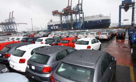 Exportações: participação de 28% na produção brasileira de veículos.