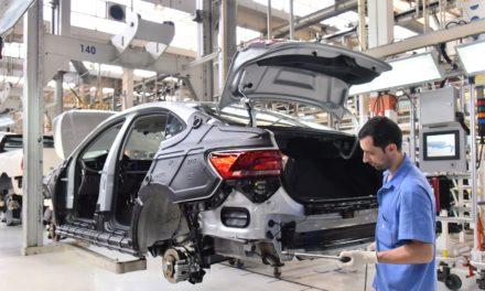 Produção de veículos em março: a maior em 41 meses.