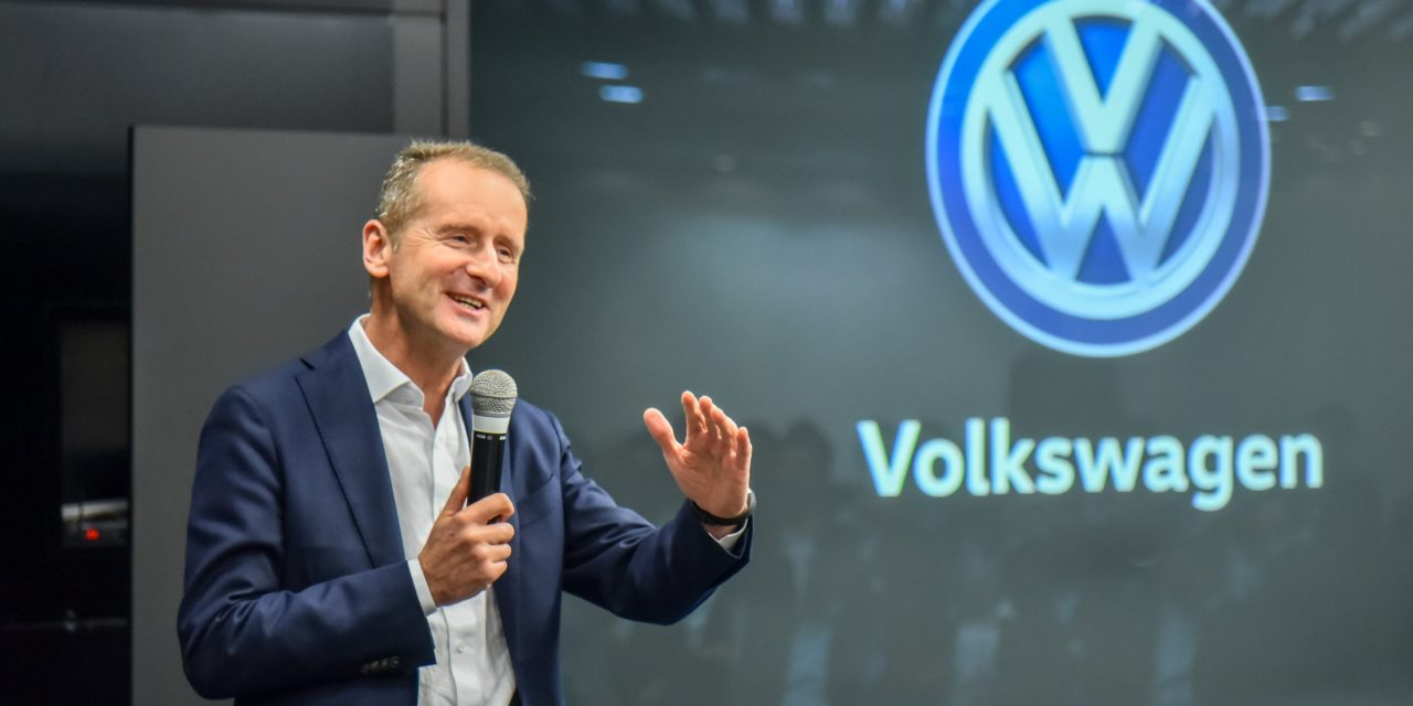 Volkswagen investirá € 44 bilhões no mundo até 2023