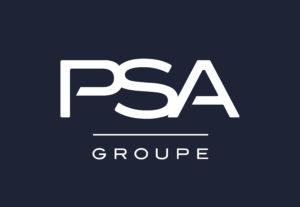 Logo Grupo PSA - Citroën Peugeot