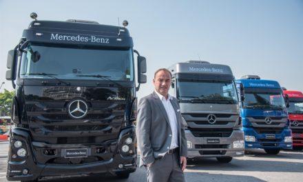Caminhões: Mercedes-Benz projeta alta de 30% em 2018.