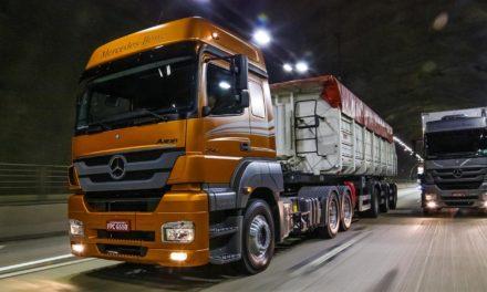 Caminhões pesados sustentam alta nas vendas do segmento