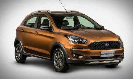 Para a Ford, Ka FreeStyle é utilitário esportivo compacto