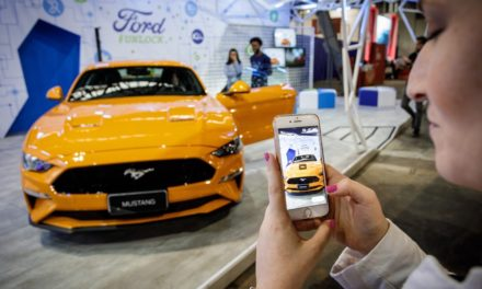 Ford mostra novo Mustang na Campus Party no Anhembi