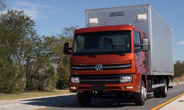 Uma volta com os novos VW Delivery
