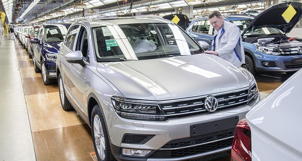 Grupo VW tem recorde de vendas em 2017