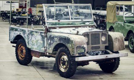 Land Rover comemora 70 anos restaurando modelo de 1948