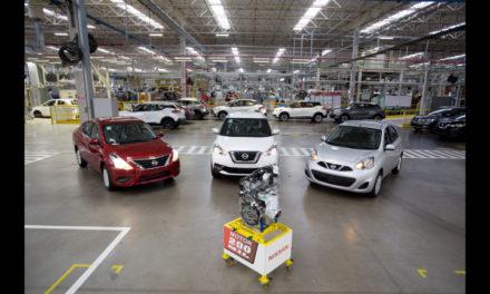 Nissan atinge 200 mil motores em Resende