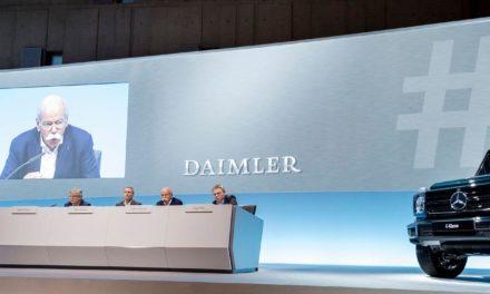 Daimler tem resultados recordes em 2017