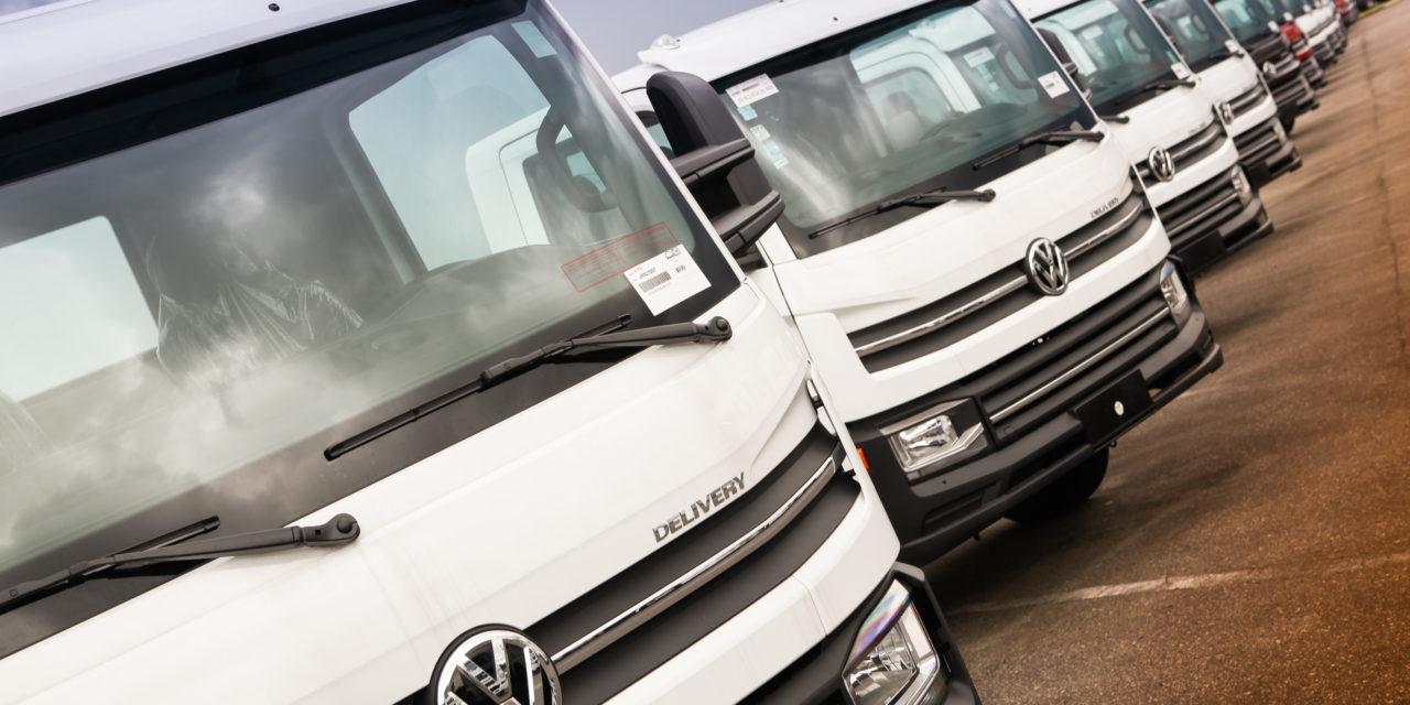 Caminhões: participação das exportações cai de 38% para 28,2%.