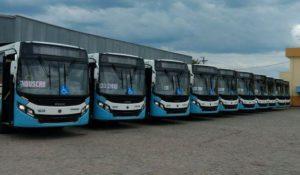 Empresa de transporte de passageiros Litoral Sul adquiriu dez ônibus Volksbus 17.230 OD para operação na cidade de Itanhaém