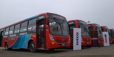Iveco Bus entrega 14 ônibus no Peru