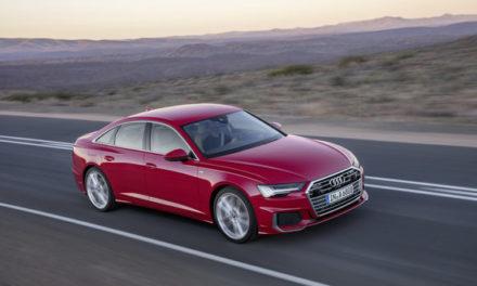 Novo Audi A6 no forno