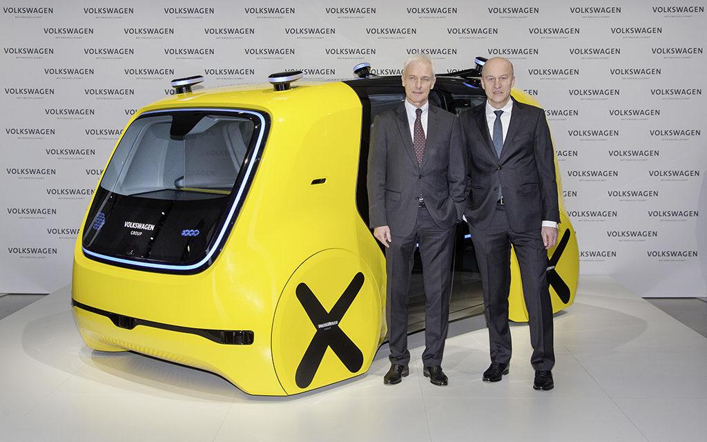 A invasão elétrica do Grupo Volkswagen