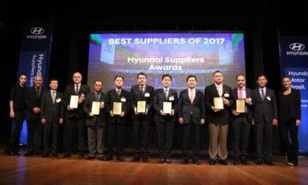 Hyundai premia os melhores parceiros de 2017